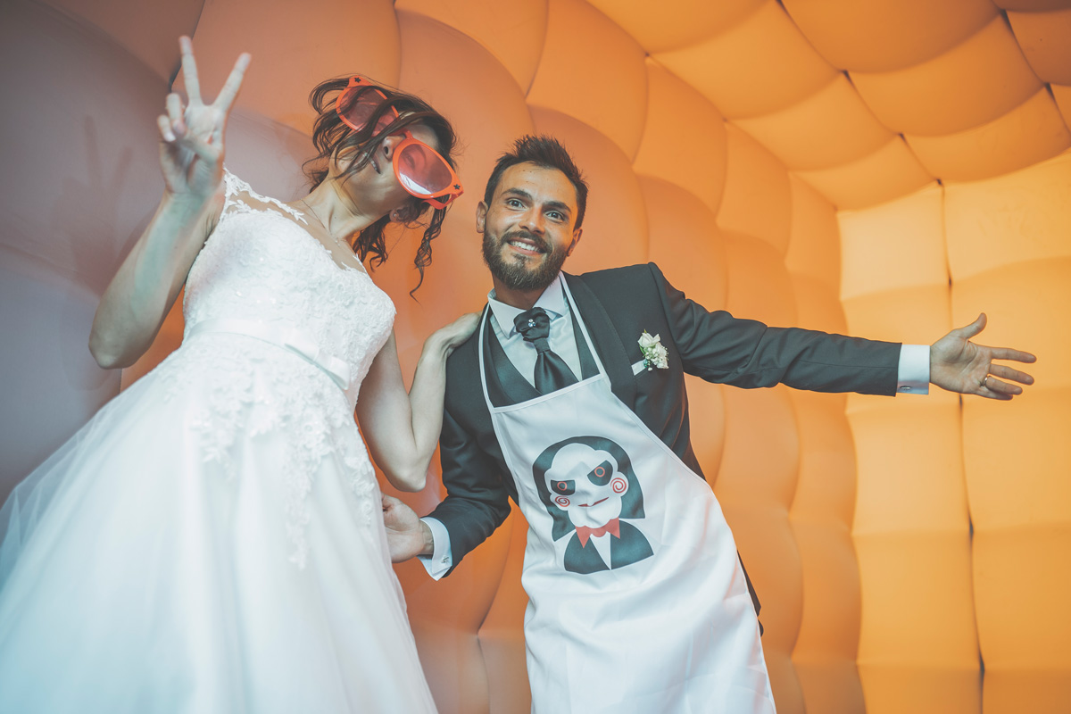 cabina fotografica matrimonio