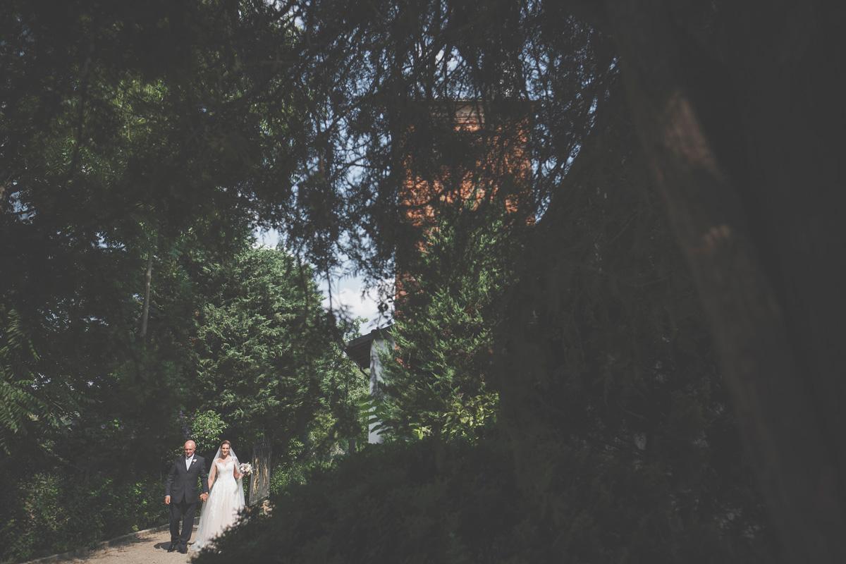 foto di matrimonio tenuta la cascinetta