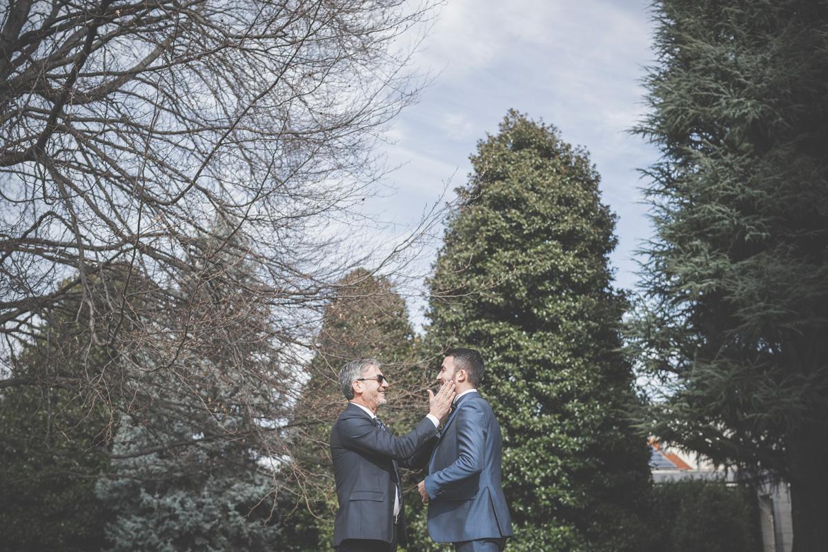 villa giacomelli foto sposo e papà