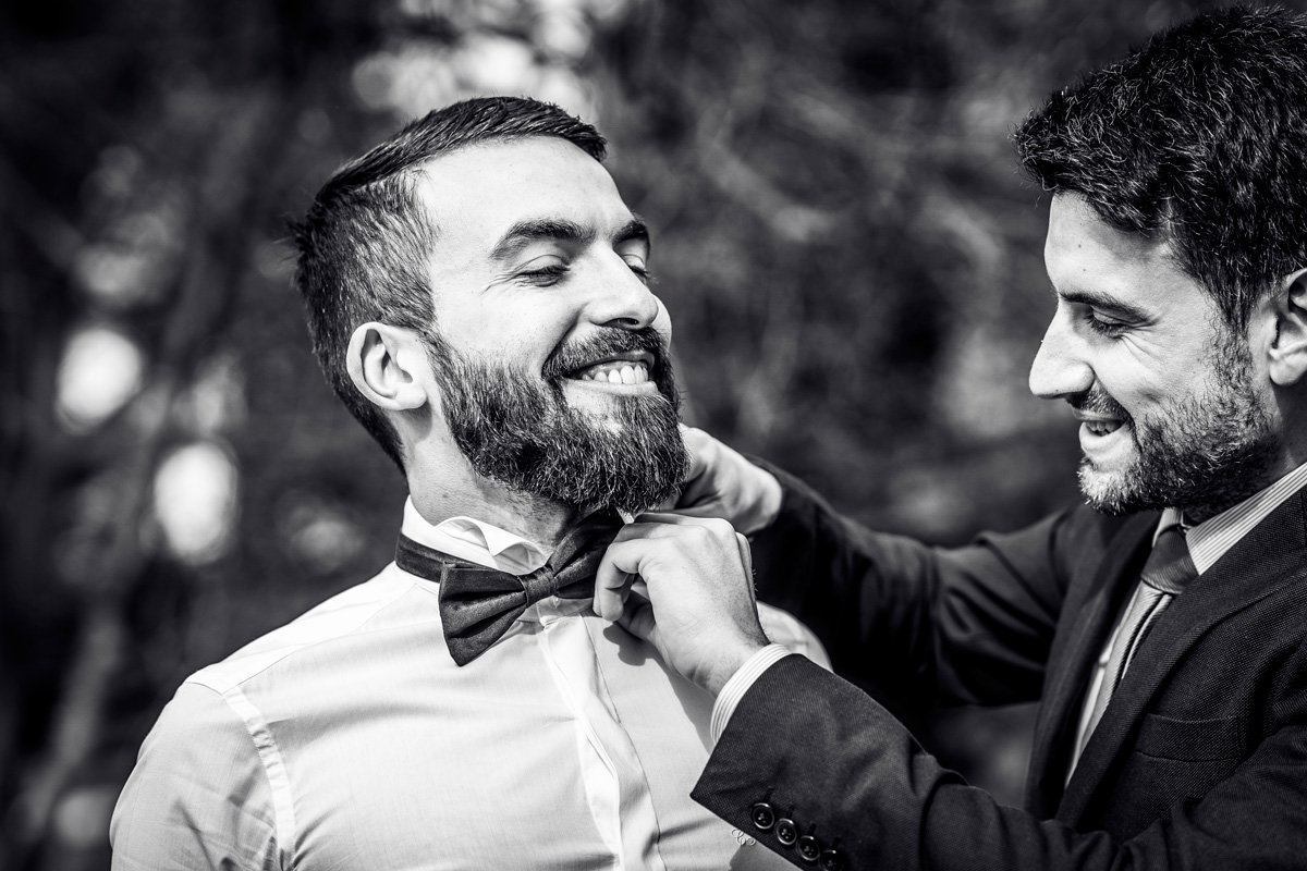 villa giacomelli preparazione sposo