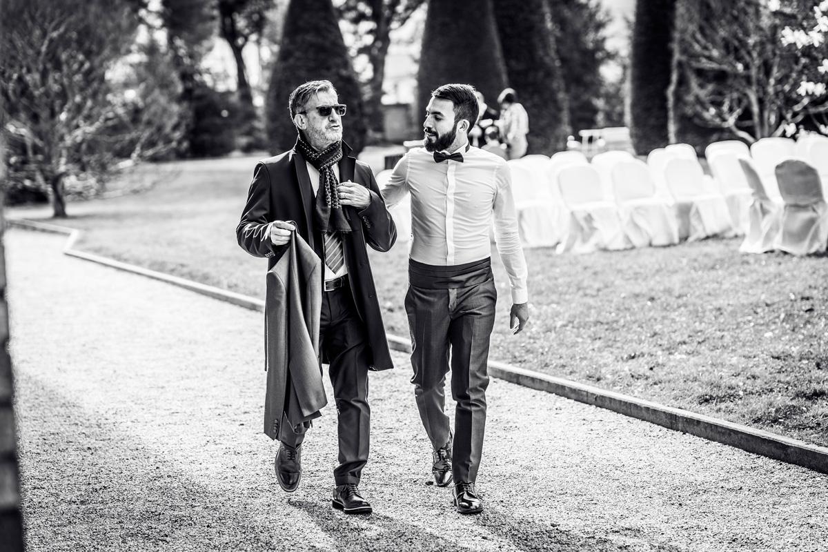 villa giacomelli reportage fotografico sposo