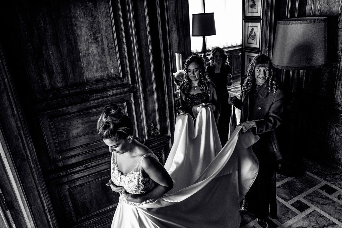 villa giacomelli preparazione sposa